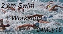 Open Water Swim 2 km + Workshop for beginner and intermediate