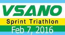 VSANO Sprint Triathlon 7 Feb 16