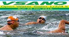 VSANO Open Water Swim 4 k 24 Jan 16