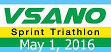 VSANO Sprint Triathlon (Solo) 1 May 16