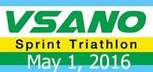 VSANO Sprint Triathlon (Solo) 1 May 16