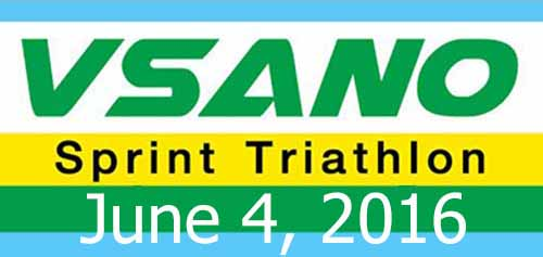 VSANO Sprint Triathlon (Team Relays) 4 June 16