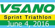 VSANO Sprint Triathlon (Solo) 4 June 16