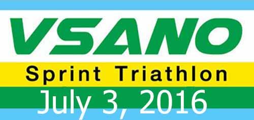 VSANO Sprint Triathlon Solo 3 ก.ค.59
