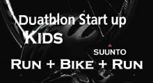 Duathlon Start up for Kids
