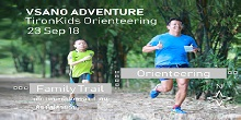 TironKids Orienteering Family Run 23 Sep 18