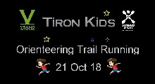TironKids Orienteering Run 21 Oct 18