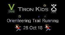 TironKids Orienteering Run 28 Oct 18