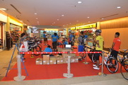 Athlete Check-In Open Langkawi Fair Shopping Mall.