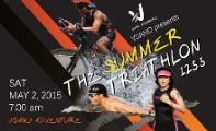 The Summer Triathlon 1255 poster by Gie